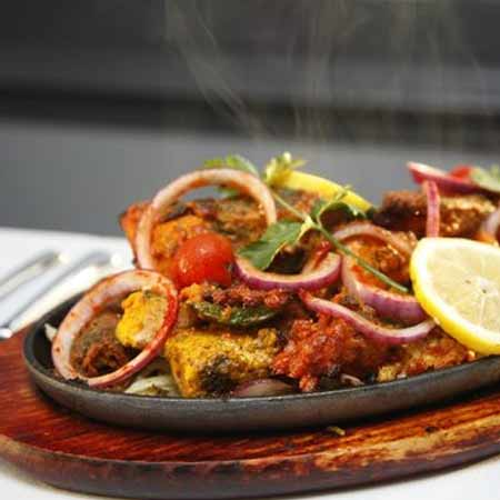 Mixed Grilled Sizzler